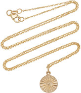 With Love Darling Wheel 14K Gold Necklace
