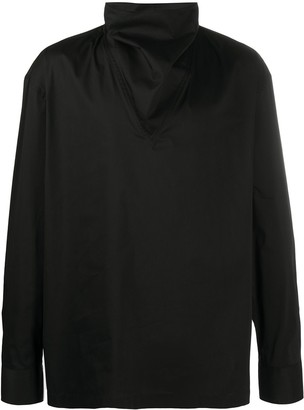 Emporio Armani High Neck Shirt