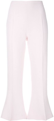 Antonio Berardi Crop Flare Trousers