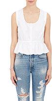 Frame Women's Cotton Sleeveless Peplum Top