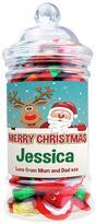 Personalised Christmas Chocolate Jar