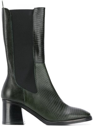 Miista Macy embossed boots