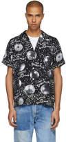 Wacko Maria Black Mirror Balls Hawaiian Shirt