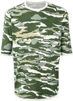 MHI camouflage print T-shirt - men - Cotton - L