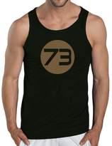 Touchlines Sheldons Best Men's Tank Top Number 73 Size: