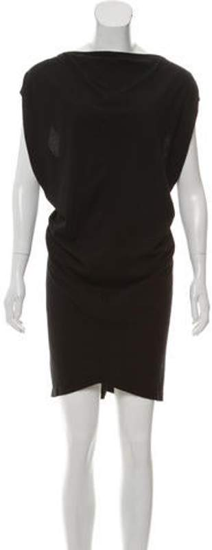 Rick Owens Sleeveless Knee-Length Dress w/ Tags Black Sleeveless Knee-Length Dress w/ Tags
