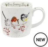 Royal Worcester Wrendale One Snowy Day Mug