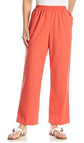 Alfred Dunner Stretch Waistband Solid Short Pant