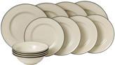 Royal Doulton Gordon Ramsay Union Street Tableware Set - 12 Piece - Cream