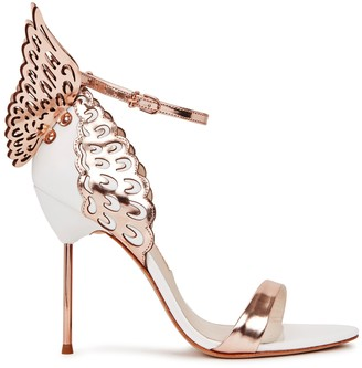 Sophia Webster Evangeline 100 winged leather sandals