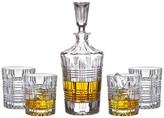 Jay Import Bridgeport Decanter & Glass 5-Piece Set