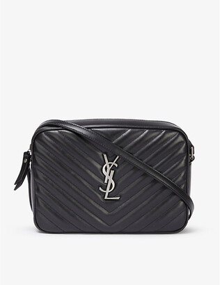 Saint Laurent Lou quilted leather camera bag