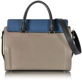 Furla Taupe Valentina Medium Satchel Bag