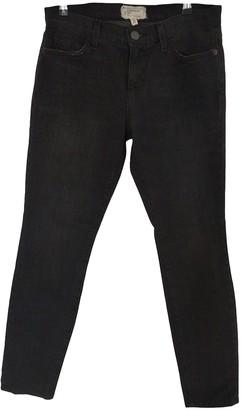 Current/Elliott Current Elliott Black Cotton - elasthane Jeans