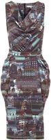 Yumi City Print Dress