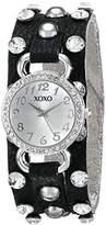 XOXO Women's XO3391 Analog Display Analog Quartz Black Watch