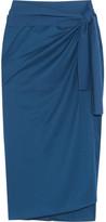 Eres Les Essentiels Tanagra Cotton-jersey Pareo - Storm blue
