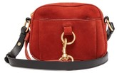See by Chloe Tony Suede And Leather Cross-body Bag - Womens - Red