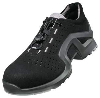 UVEX 1 X-Tended Support Work Shoe - Safety Trainer S1 SRC ESD - Black - Size 8