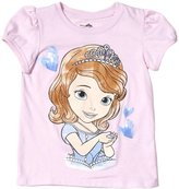 Disney Sofia Graphic Tee (Toddler) - Pink-3T