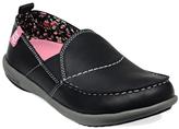 Spenco Black Siesta Leather Slip-On