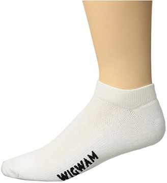 Wigwam Cool-Lite Pro Low Cut (White) Crew Cut Socks Shoes