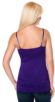 Motherhood Clip Down Nursing Tank With Built-in Cups