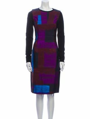Oscar de la Renta 2012 Knee-Length Dress
