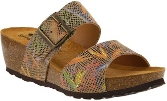 Spring Step Slide Leather Sandals - Barnabas
