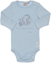 Wheat Pooh Print Organic Cotton Bodysuit