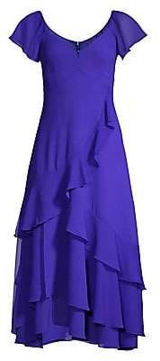 Nanette Lepore Women's Flutter Midi Dress