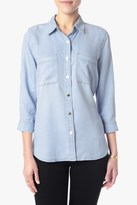 7 For All Mankind Roll Sleeve Denim Shirt