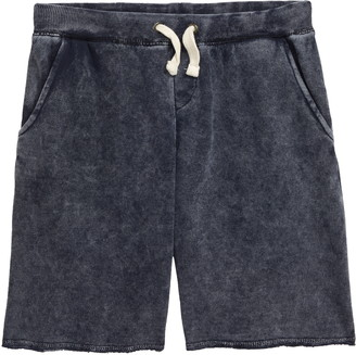 Vintage Havana Burnout Drawstring Shorts