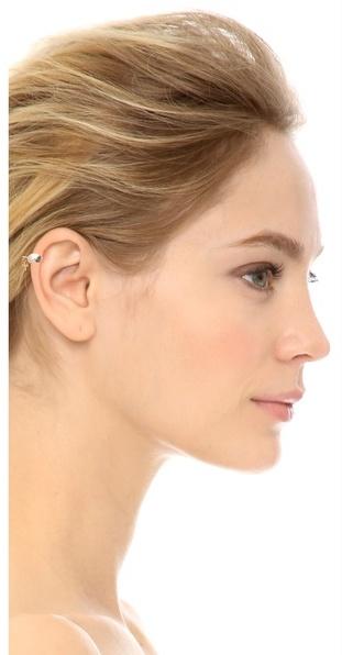 Bing Bang Cross Ear Cuff