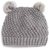 Surell Girls' Double Pom Hat