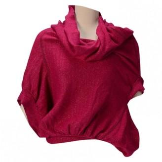 Junya Watanabe Pink Wool Tops