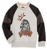 Armani Junior Little Boy's & Boy's Graphic Sweatshirt