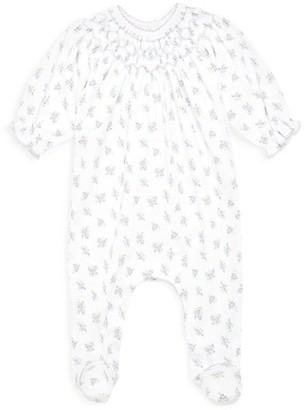 Magnolia Baby Baby Girl's Melanies Ruffled Floral-Print Footie