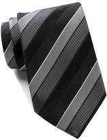 Kenneth Cole Reaction Texture Step Stripe Silk Tie