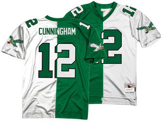Mitchell & Ness Men Randall Cunningham Philadelphia Eagles Home & Away Split Legacy Jersey