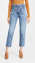 Thumbnail for your product : JONATHAN SIMKHAI STANDARD Theo Belted Pleated Jeans