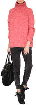 Vanessa Bruno Marled Knit Pullover in Hibiscus