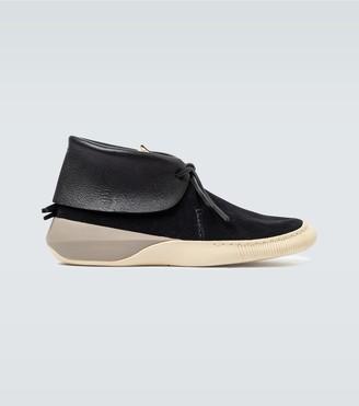Visvim FBT Lhamo Folk Chukka shoes