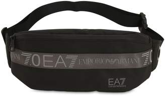 Ea7 Logo Nylon Belt Bag