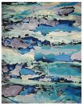 "Nourison Prismatic Rug - Abstract Seaglass, 5'6"" x 7'5"""