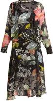 Preen by Thornton Bregazzi Hayley floral-print silk-devoré dress