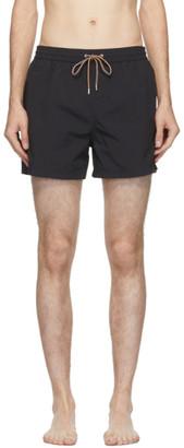 Paul Smith Black Plain Swim Shorts