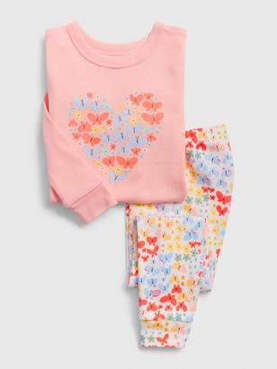 Gap babyGap Butterfly Heart PJ Set