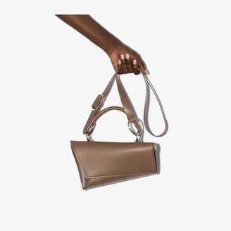 Venczel brown VX-S leather shoulder bag
