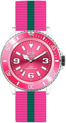 Ice Watch Ice-Watch Ice. GI. U.N.14UnitedLadies WatchAnalogue QuartzPink DialBracelet Nylon Multicoloured